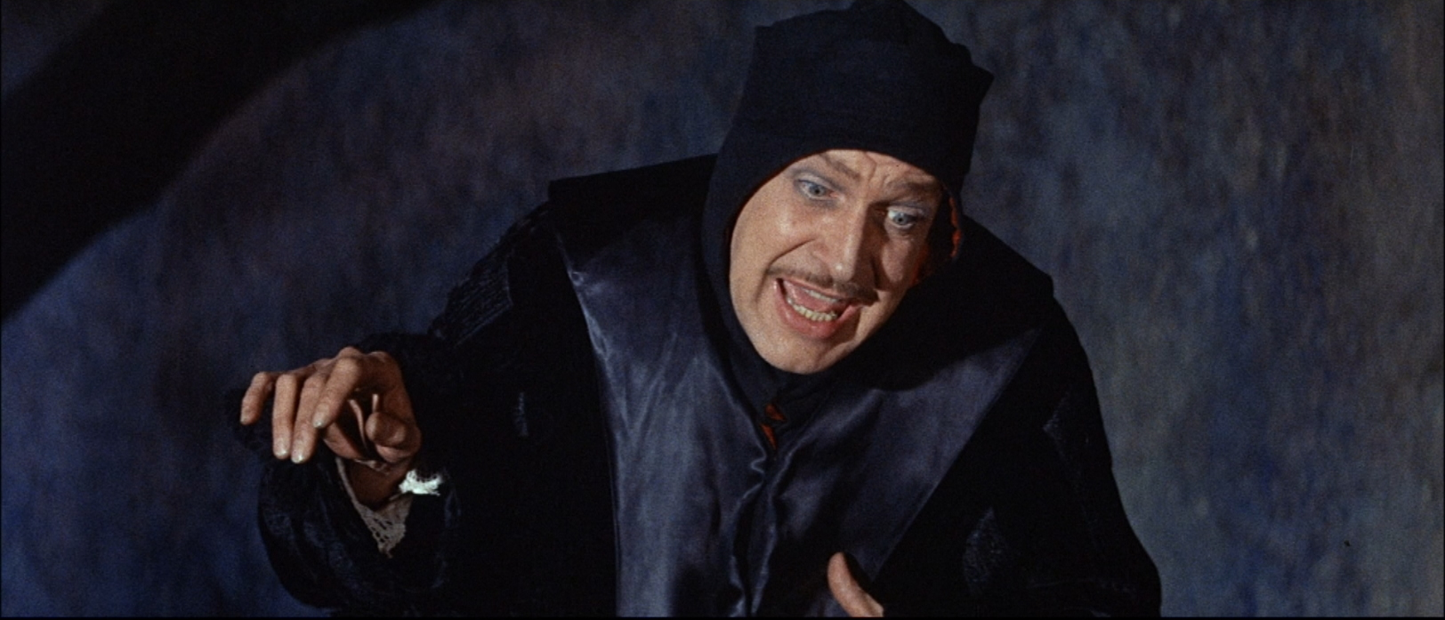 vincent price in six gothic tales the pit and the pendulum
